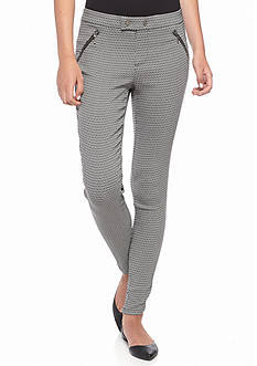 Jolt Stretch Jacquard Skinny Pants