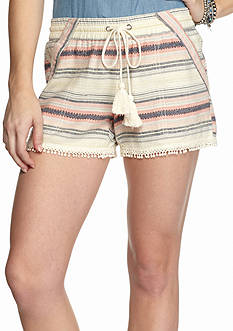 Jolt Multi Stripe Linen Shorts