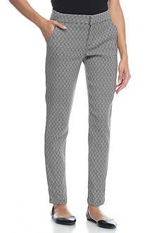 BeBop Millennium Jacquard Intermaza Skinny Pants