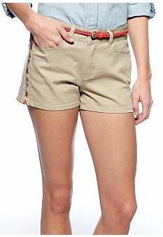 BeBop Side Embroidered Twill Short