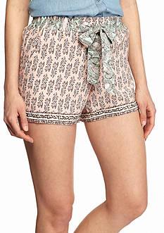 BeBop Tie Waist Basic Shorts