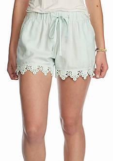 BeBop Crochet Hem Shorts
