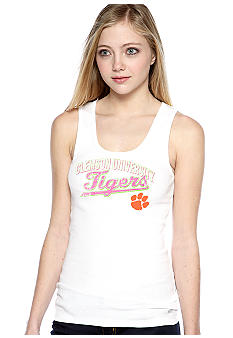 Soffe White Screen Tank Clemson