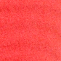 Juniors: Shorts Sale: Fiery Coral Soffe Solid Color Knit Shorts