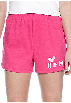 Soffe Pink Short Ole Miss
