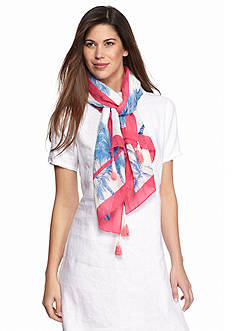 Tommy Bahama Art Of Palms Scarf