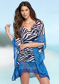 Tommy Bahama Zebra Tunic Cover Up
