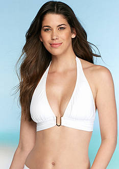 Tommy Bahama Pearl Solids Halter Cup Bra