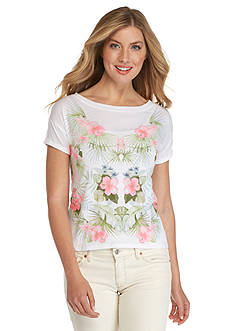 Tommy Bahama Solidad Oasis Tropical Graphic Tee