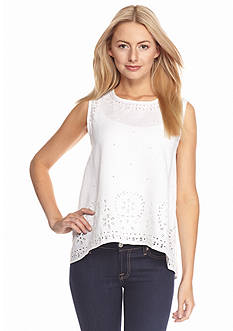 Tommy Bahama Sleeveless Linen Top