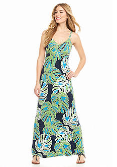 Tommy Bahama Pop Art Palms Maxi Dress