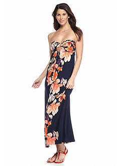 Tommy Bahama Strapless Maxi Dress