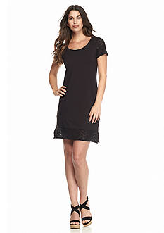 Tommy Bahama Tambour Eyelet Short Dress