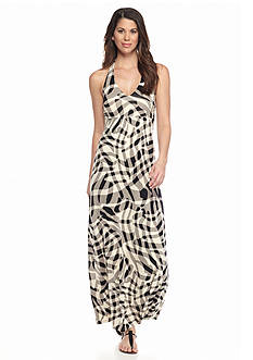 Tommy Bahama Chateau Shadow Striped Halter Dress