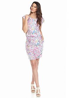 Tommy Bahama Palais Paisley Short Dress