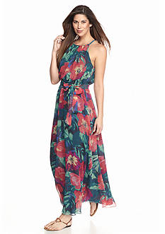 Tommy Bahama Paradise Poppies Maxi Dress