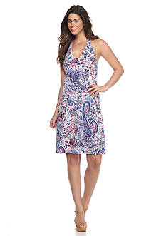 Tommy Bahama Knit Paisley Dress