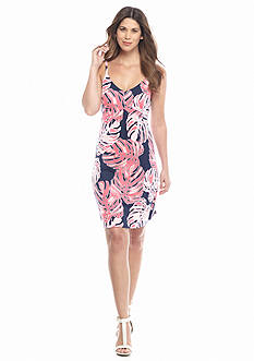 Tommy Bahama Print Palms Short Dress