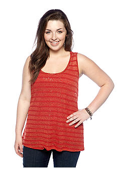 Eyeshadow Plus Size Crochet Tank
