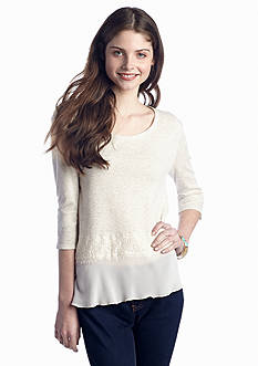 Eyeshadow Terry Lace Top