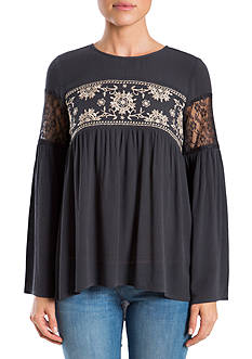 Eyeshadow Embroidered Tunic