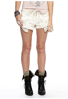 Free People Shibori Cutoff Short