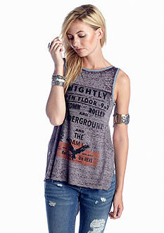 Free People Graphic Concert Tank