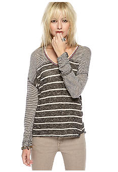 Free People Hang Ten Knit Top