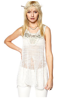 Free People Summer Fog Tunic Sweater