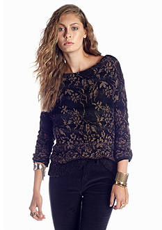 Free People Flower Fields Pullover Sweater