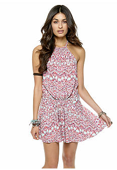 Free People Simone Printed Gathered Dress