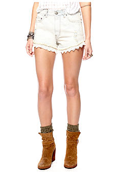 Free People Railroad Denim Short