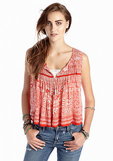 Free People Gauze Myna Tank