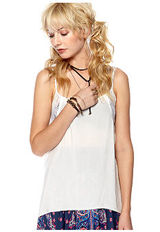 Free People Lace Insert Swing Camisole