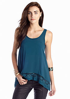 Free People Outlined High-Low Cami Top