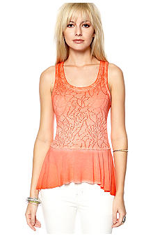 Free People Peplum Rally Tee