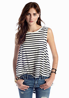 Free People Striped Beach House Top