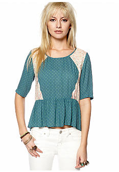 Free People Dandelion Woven Top