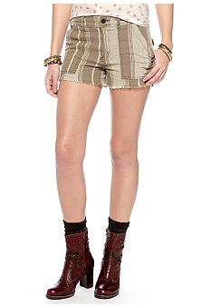 Free People Yarn Dye Cargo Short