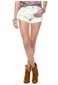 Free People Dolphin Cutoff Denim Shorts