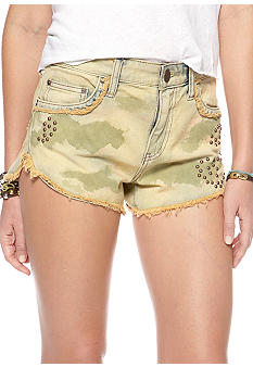 Free People Rugged Denim Short