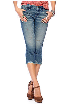 Free People Destroyed Crop Jean