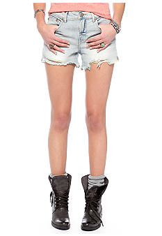 Free People Lou Lou Cut Off Jean Short