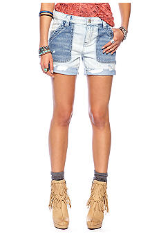 Free People Carpenter Boyfriend Jean Short