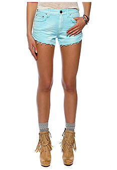 Free People Dolphin Cutoff Denim Short