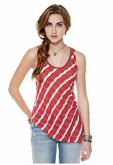 Free People Striped Ribbed Tank