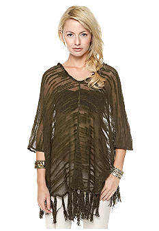 Free People Ease with the Breeze Poncho