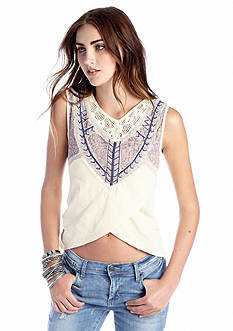Free People Sahara Wrap Top