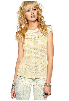 Free People Lollipop Peplum Sweater