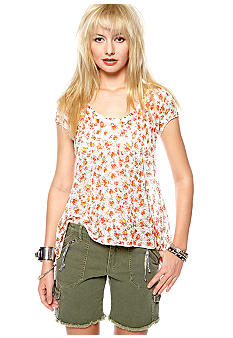 Free People Ditsy Sweater Tee